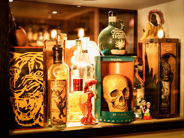 best tequila bars in london, pink chihuahua