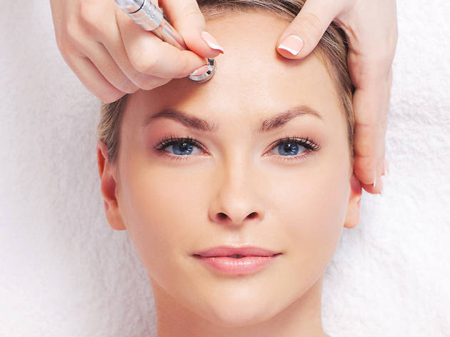 Microdermabrasion at Christine Chin Spa