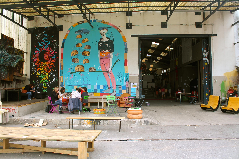 La Réserve et son Grand 8: le QG culturel de l'été se trouve à Malakoff