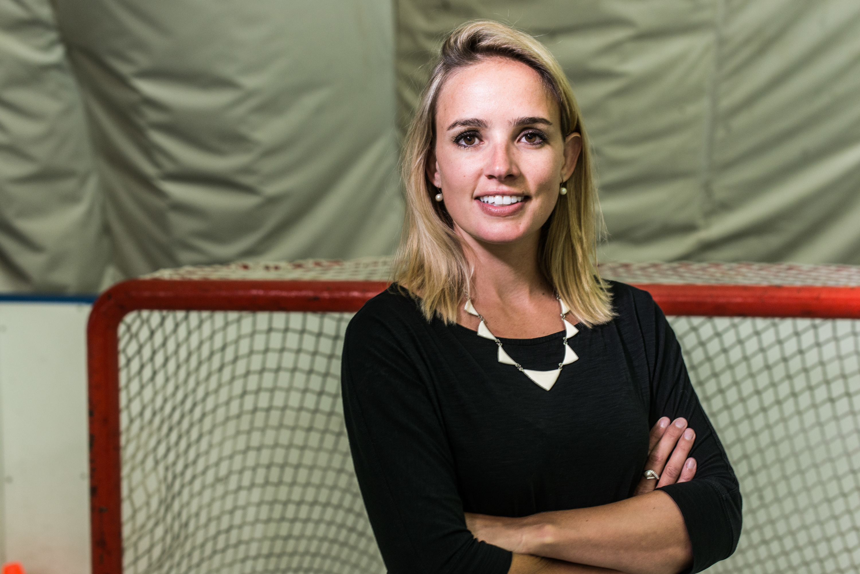 Meet Dani Rylan, the commissioner of the first professional women's hockey league in the U.S.A.