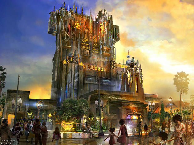 Guardians of the Galaxy is taking over the Tower of Terror at Disney California Adventure