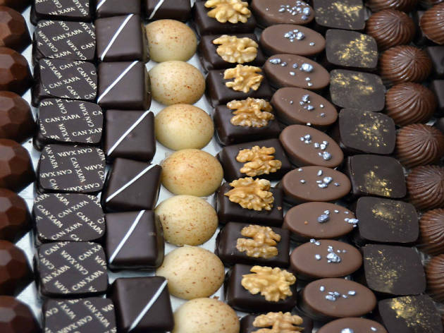 Sample the chocolate at Can Xapa