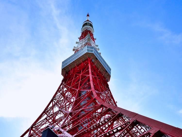 Visit Tokyo Tower, a Tokyo icon