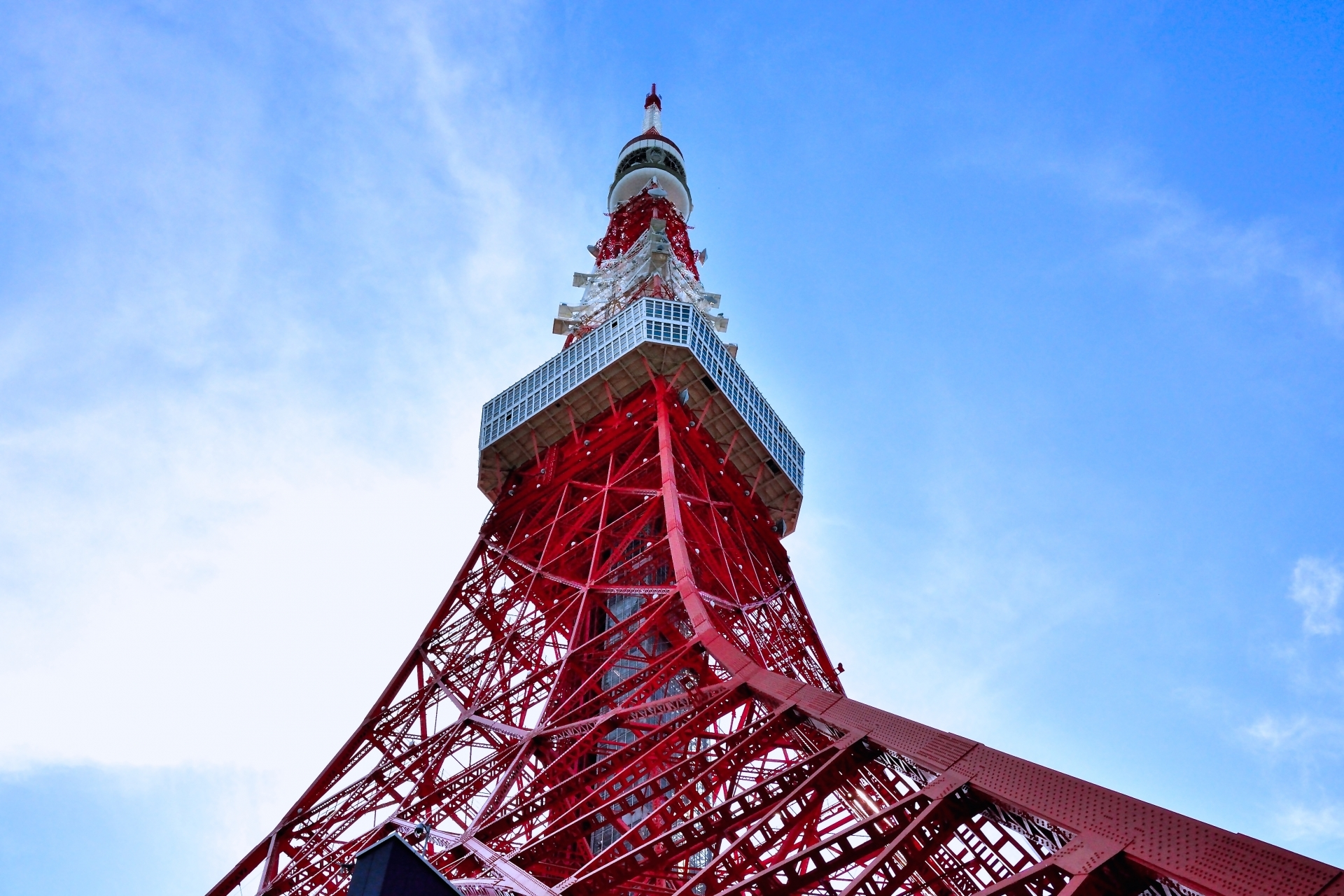 Scale the iconic mast: Tokyo Tower