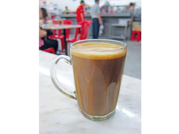 Hainan tea at Ah Weng Koh