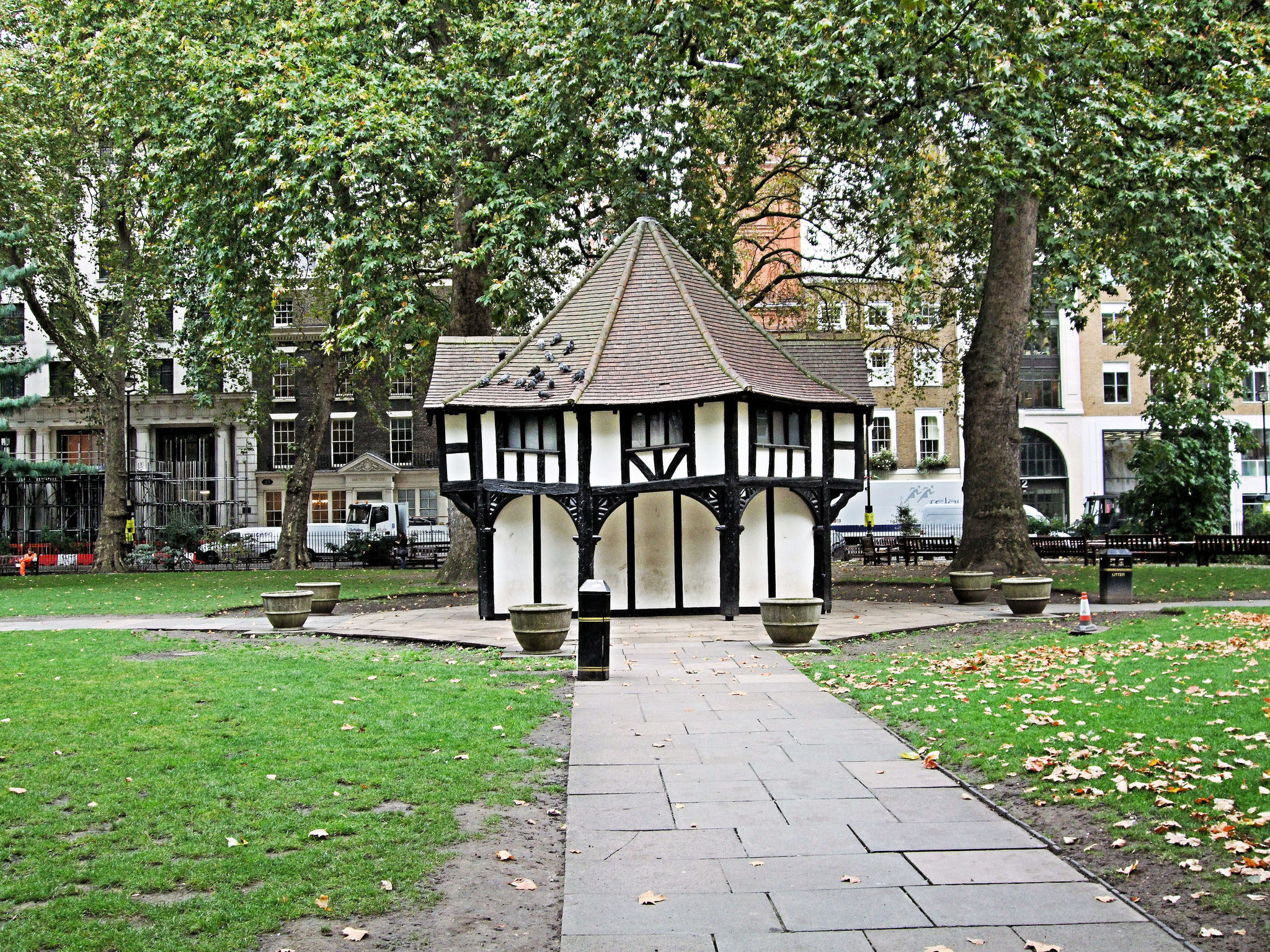 Soho Square cottage, London