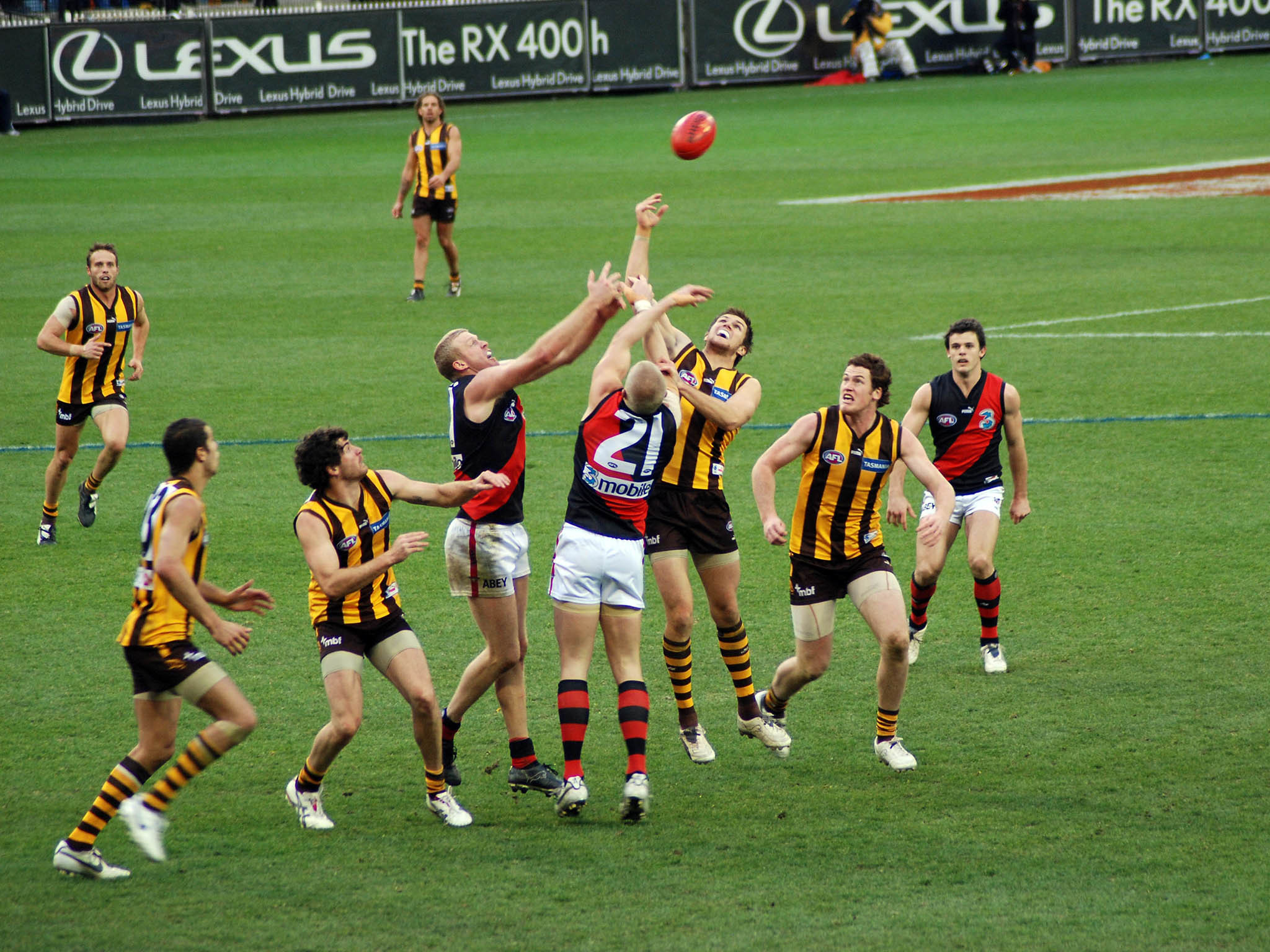 See an AFL game at the MCG