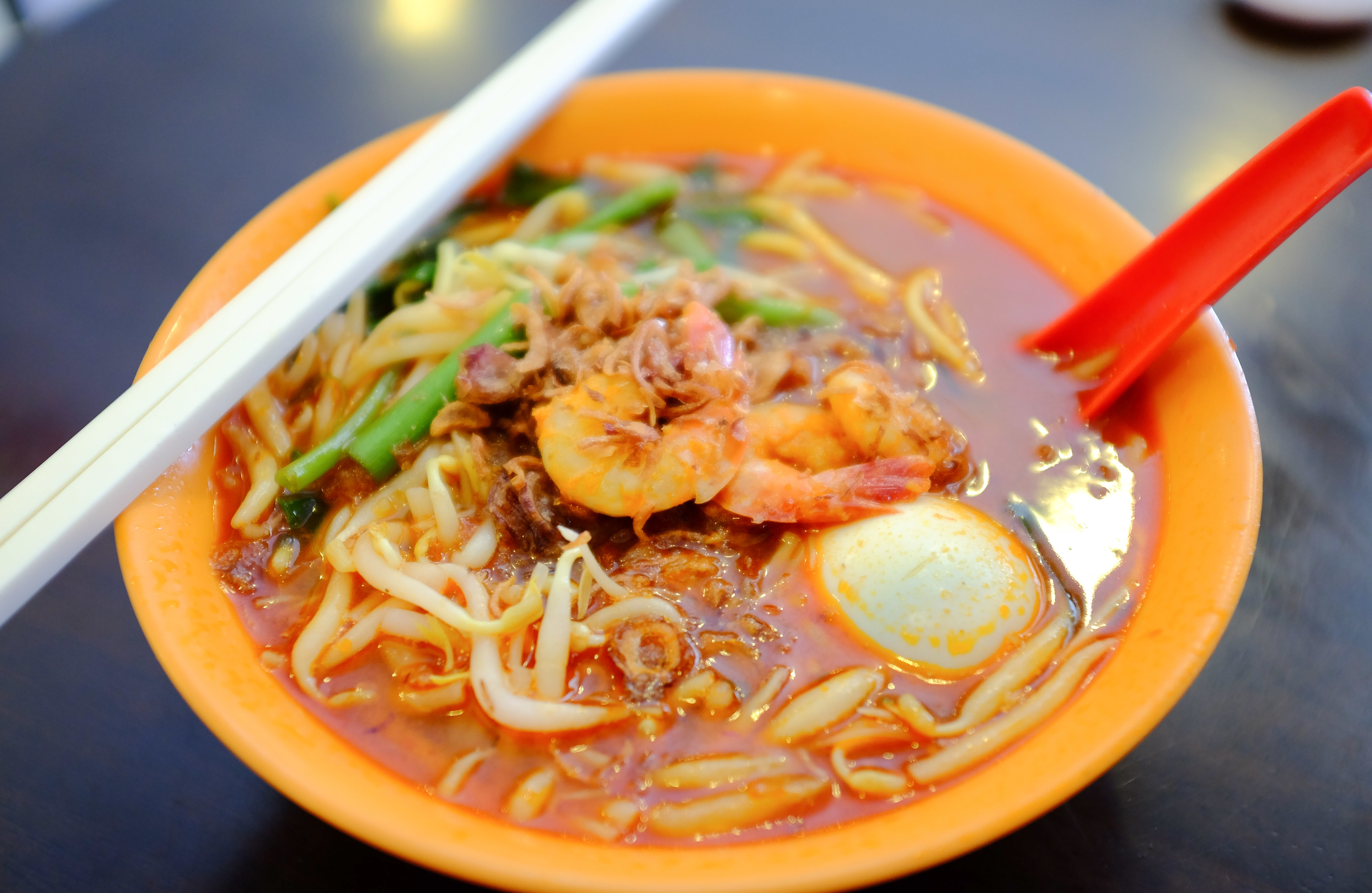 Prawn mee at Choon Prawn Mee House