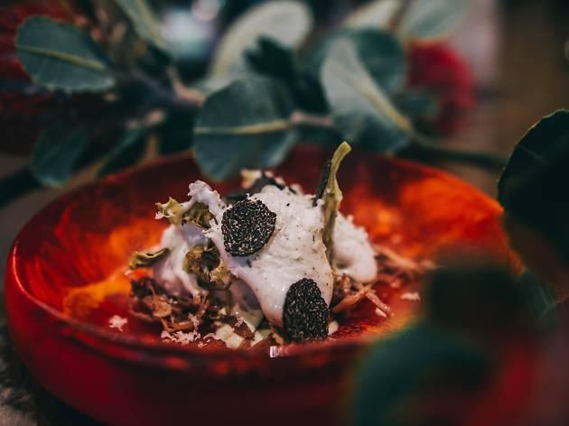 A dish at Gelato Messina's experimental dessert degustation