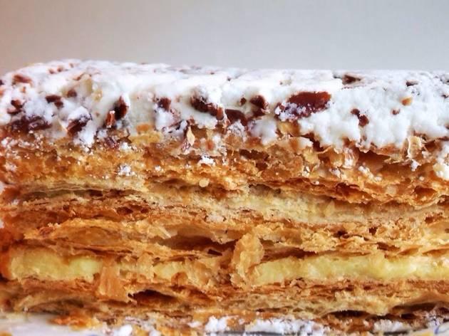 Napoleon at Dianda's Italian American Pastry