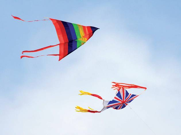 Kite Flying at Galle Face Green