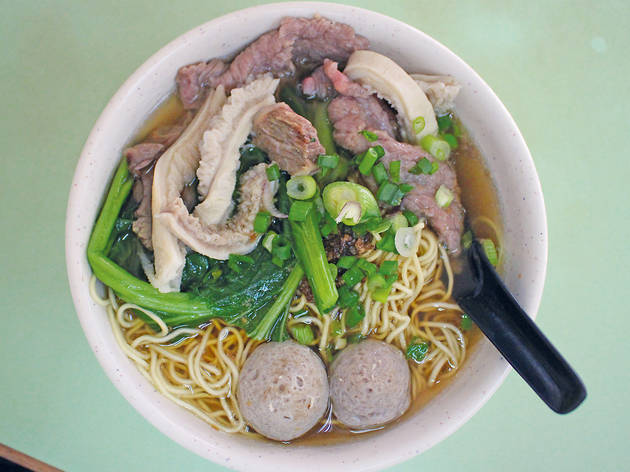 Beef noodles at Soong Kee, from RM7