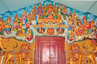 Makara Thorana at Lankatilleke