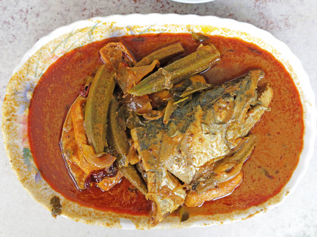 Restoran Sin Hiap Kee fish head curry