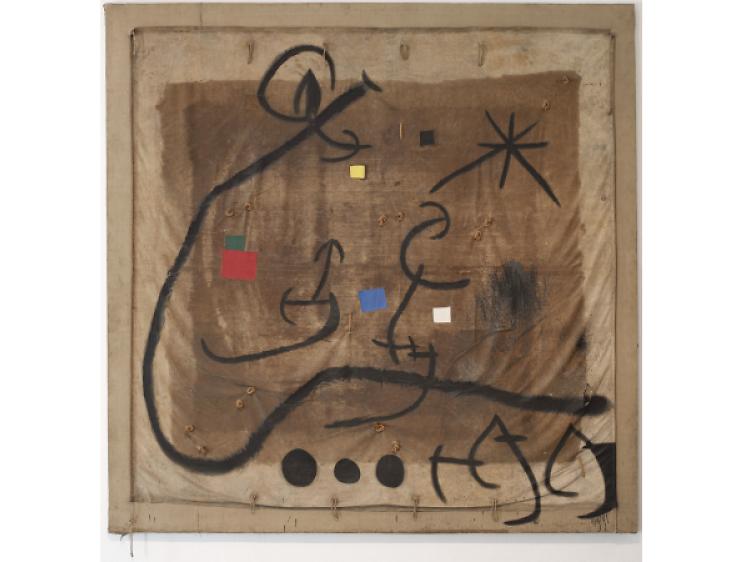 A la Fundació Miró