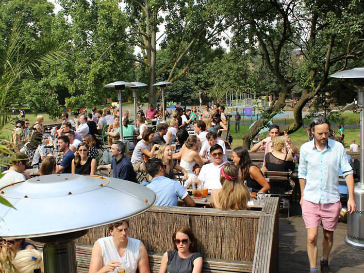 The best pubs near parks in London