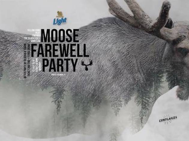 Moose Farewell Party