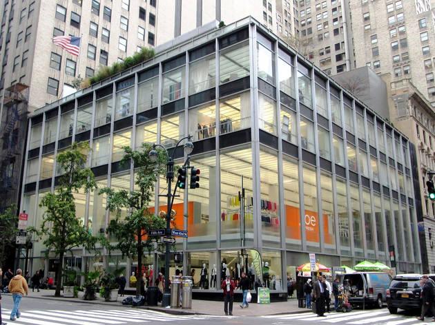 midcentury buildings in NYC