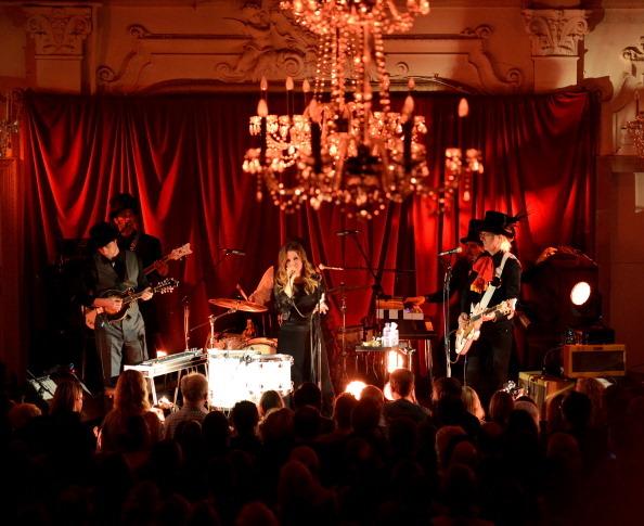 Lisa Marie Presley Performs At Bush Hall In London, press 2012