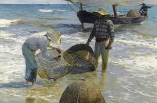 (Joaquin Sorolla, 'Pêcheurs valenciens', 1895 © La Havane, Museo Nacional de Bellas Artes / Photo : David Rodriguez)