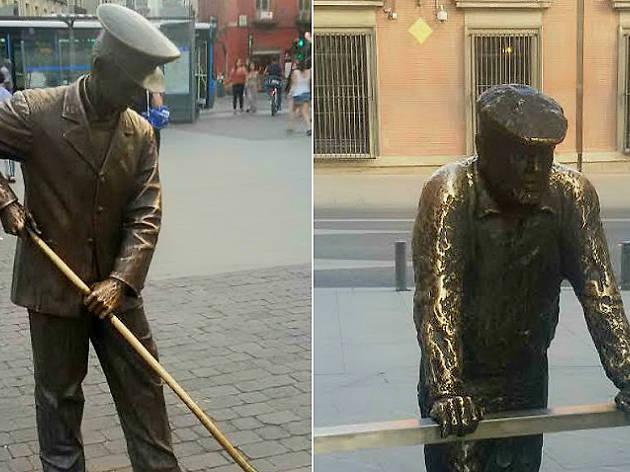 Estatuas urbanas a ciudadanos anónimos