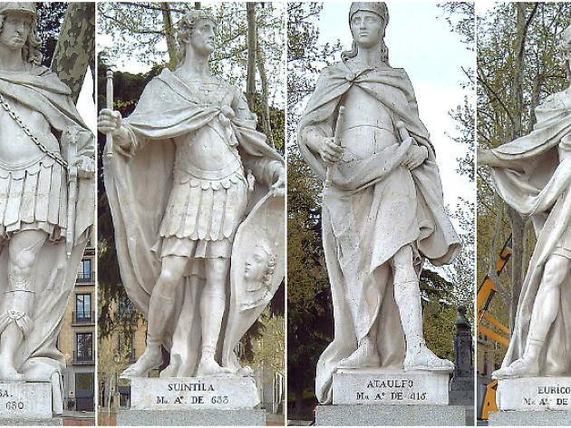 Estatuas Plaza de Oriente