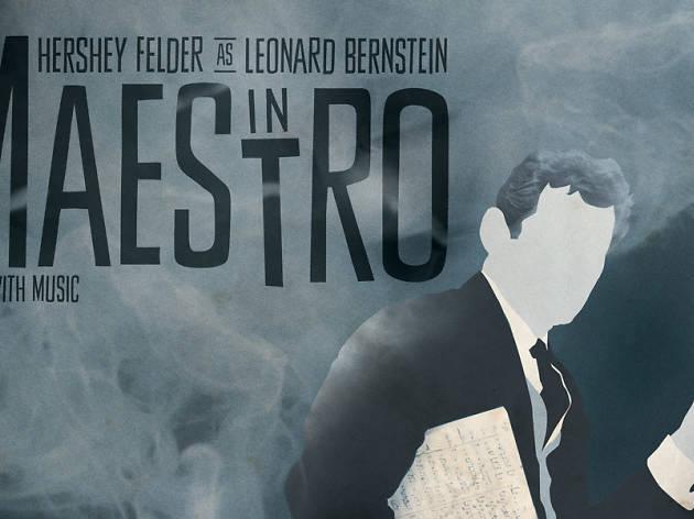 Hershey Felder as Leonard Bernstein in Maestro