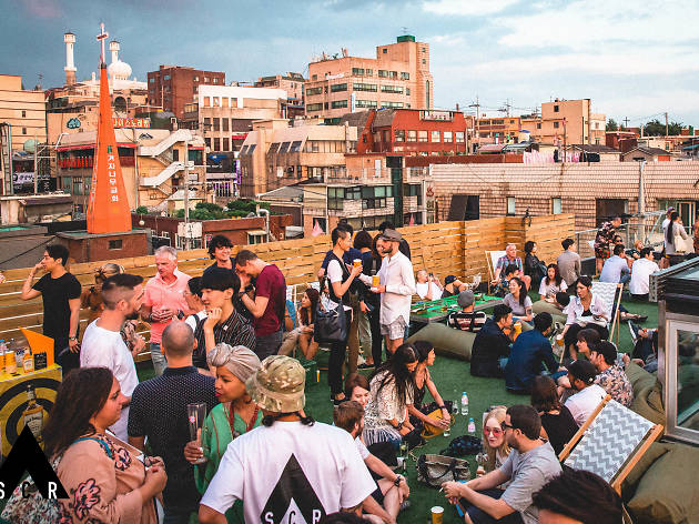 Top 22 outdoor bars in Seoul