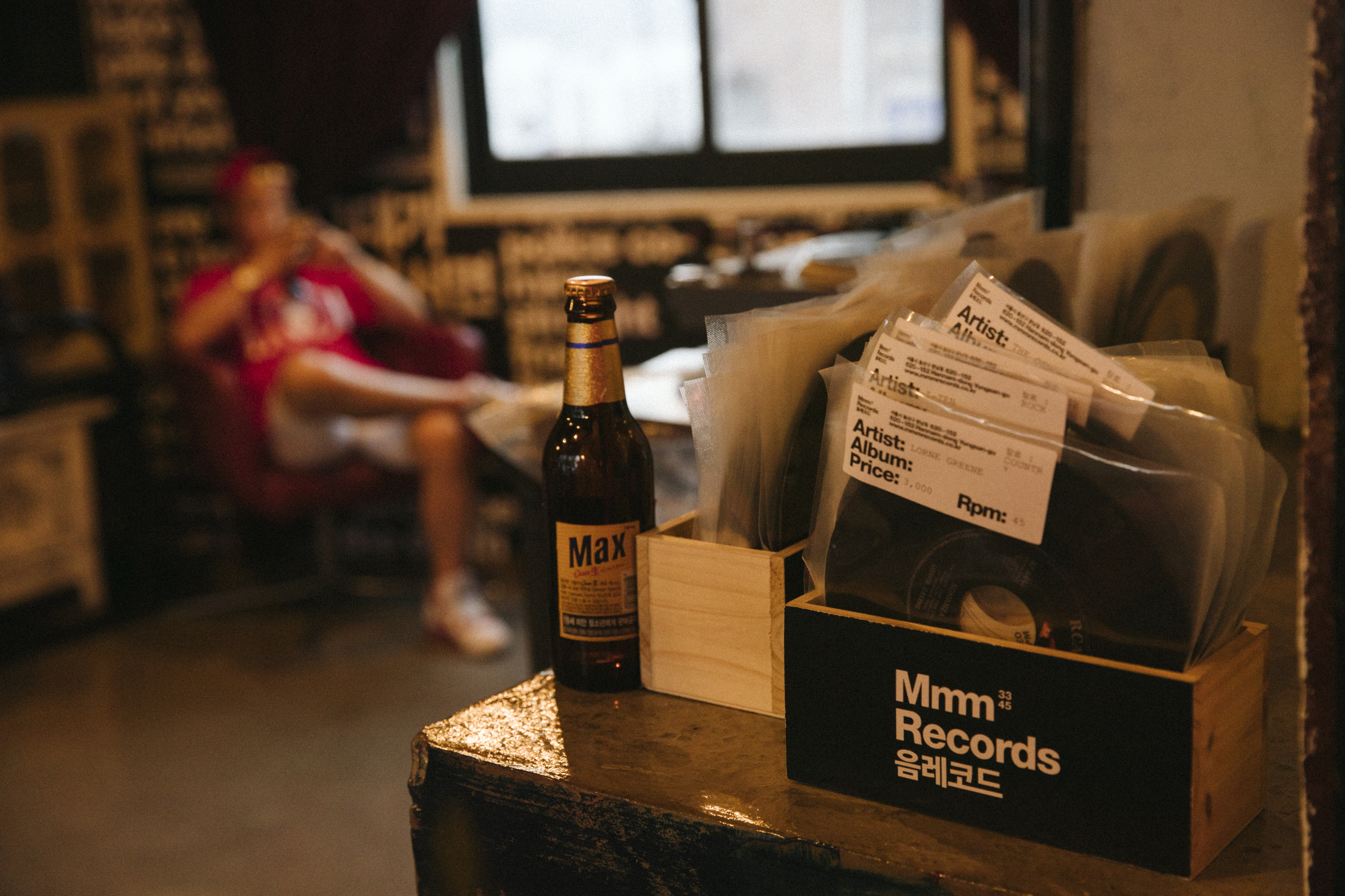 Seoul's up and coming vinyl bars