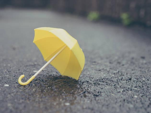 jour de pluie parapluie