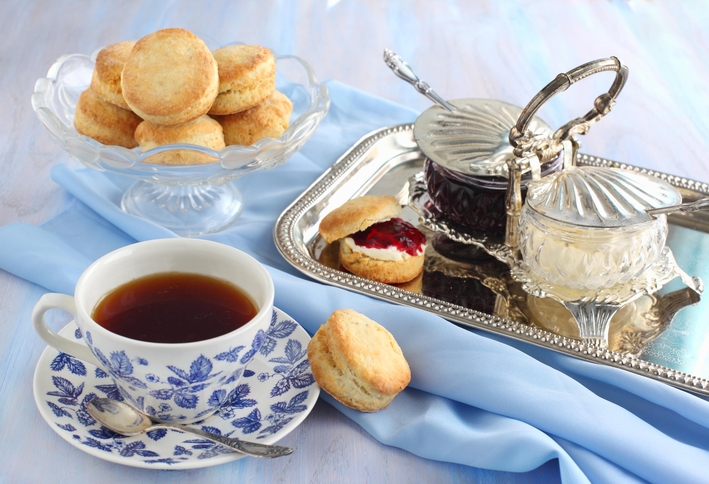...ou déguster un thé pour le goûter