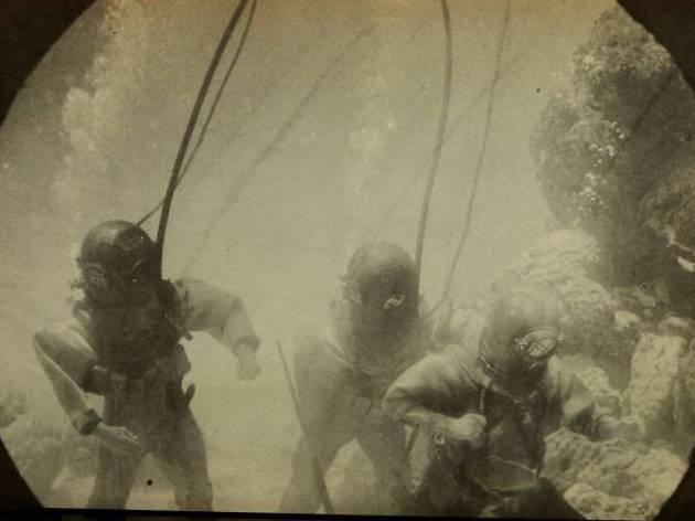 Sota l'aigua. 100 anys de la primera pel·lícula submarina