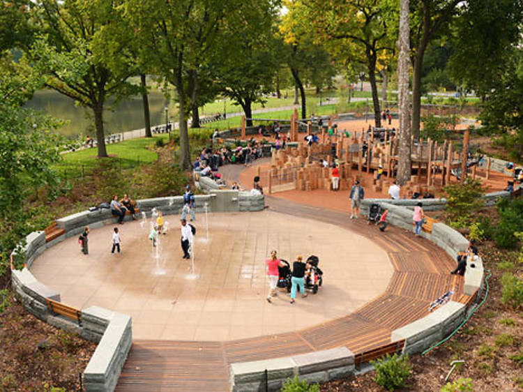 East 110th St Playground, Central Park