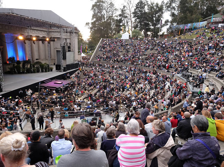See a show at The Greek Theatre