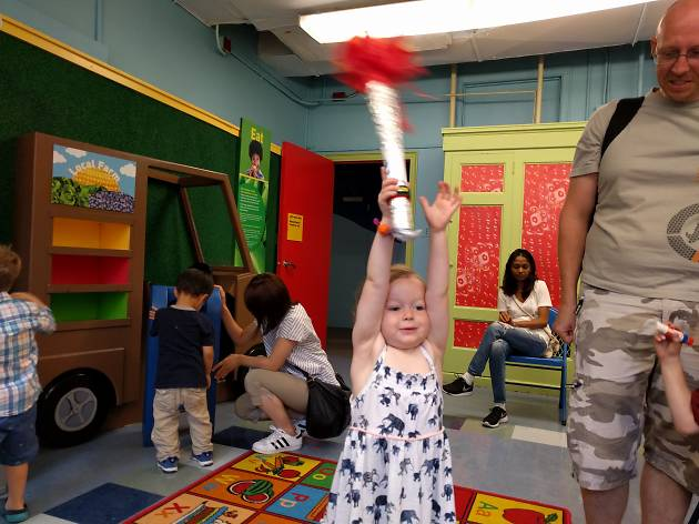 The Olympics at the Children's Museum of Manhattan