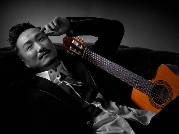 ronald cheng and guitar