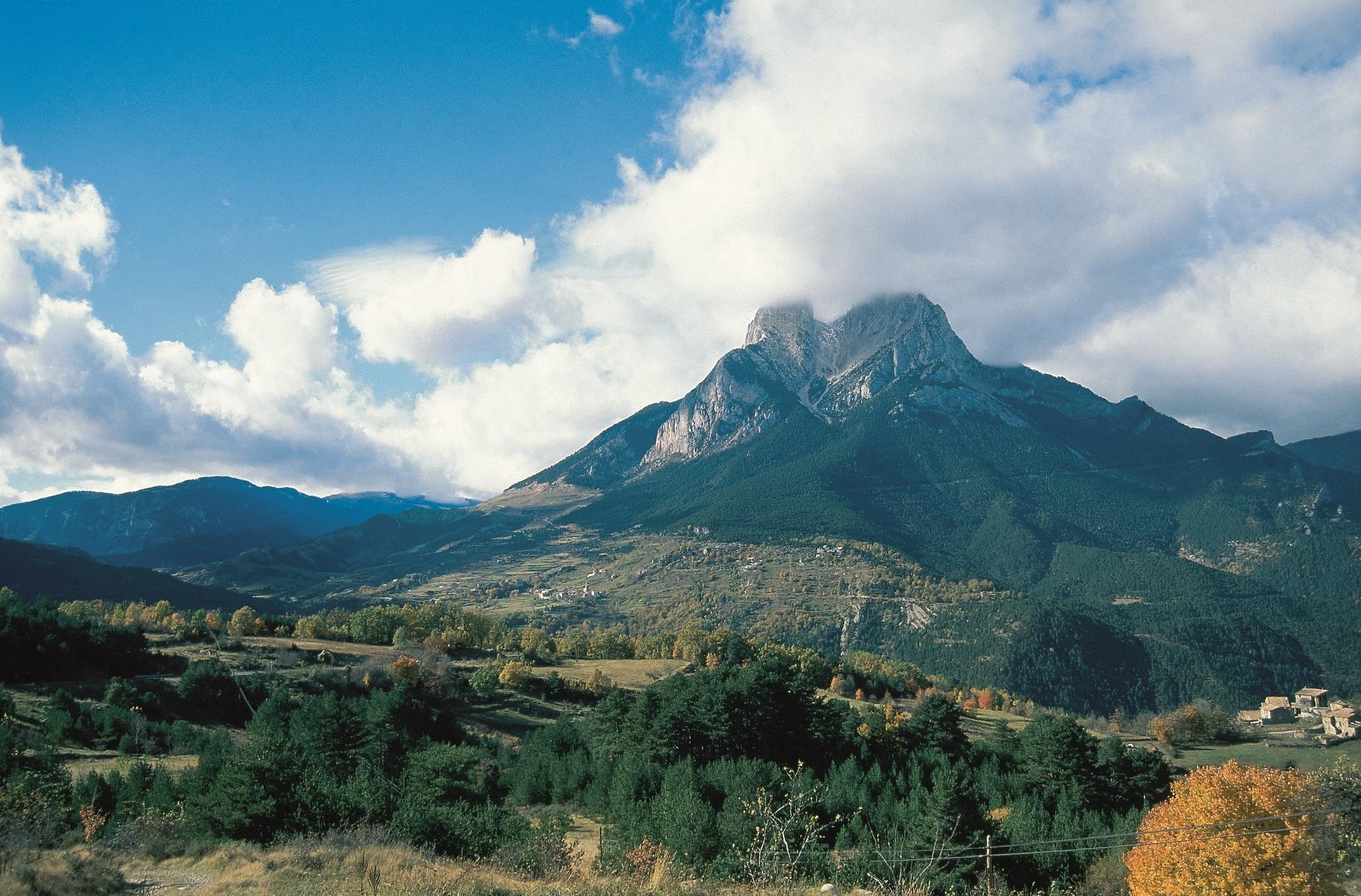 Climbing the legendary Pedraforca
