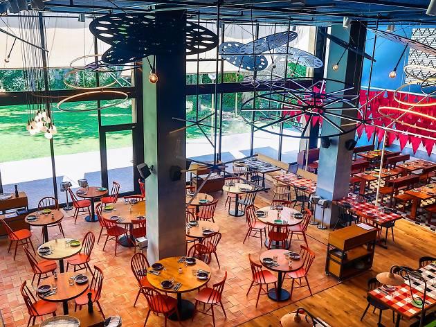 Bellavista del jard n del norte restaurants in barcelona for Barcelona jardin