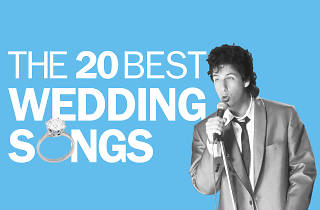 The 20 best wedding songs