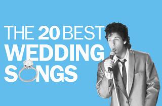 The 20 best wedding songs