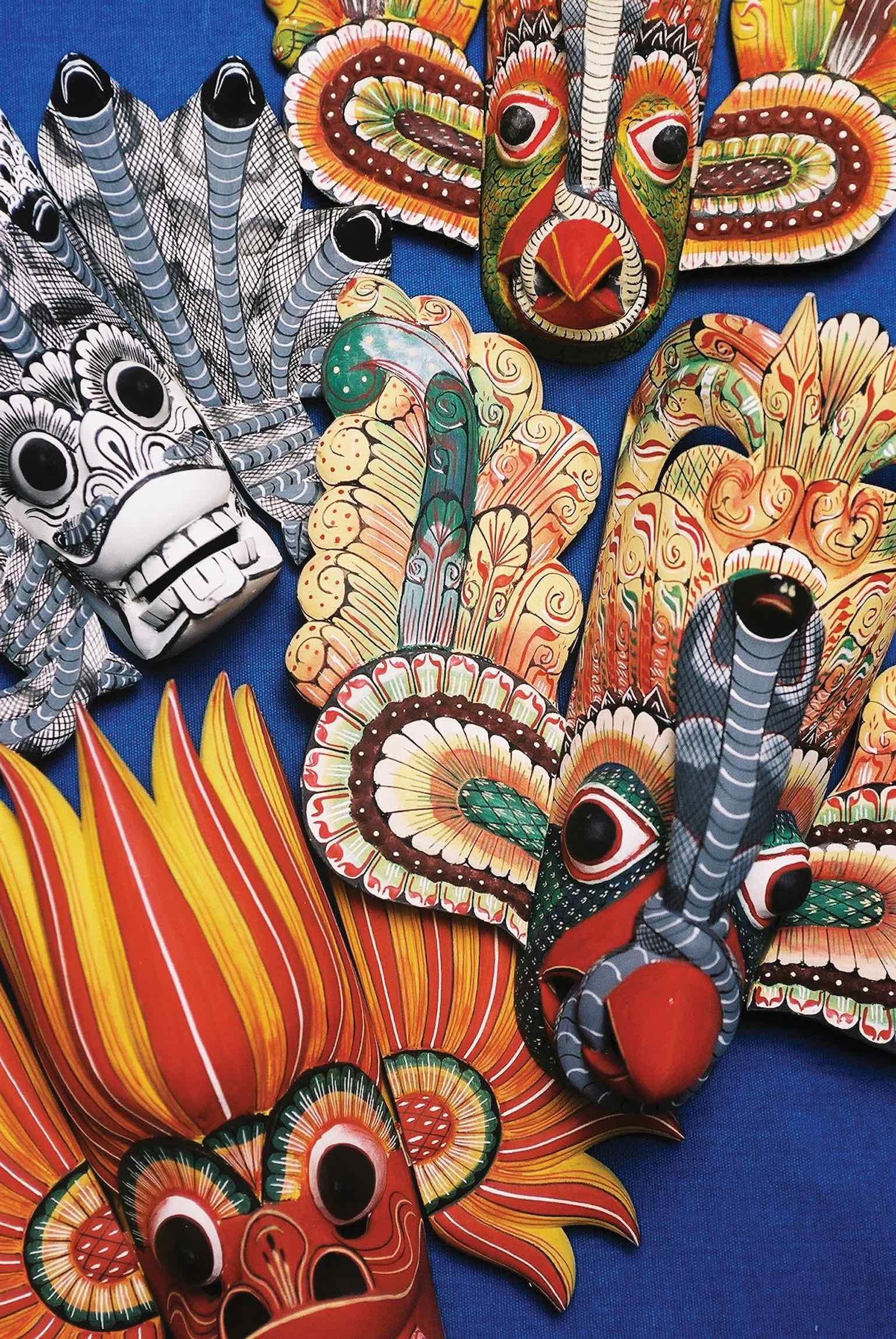 Puppets and masks of Ambalangoda