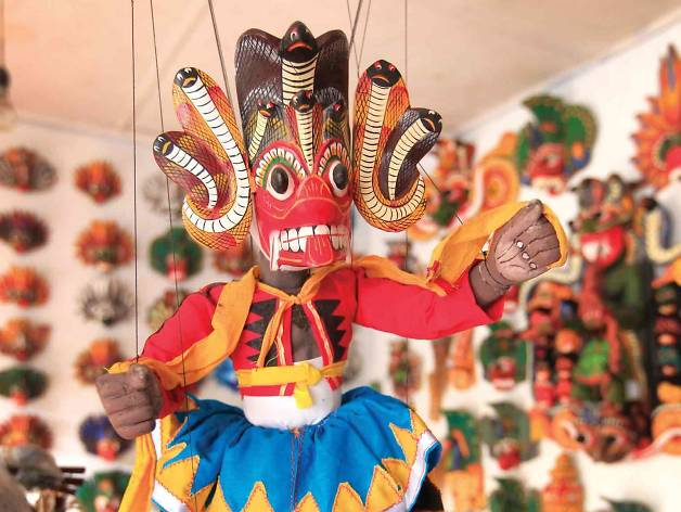 Puppets and masks of Ambalangoda