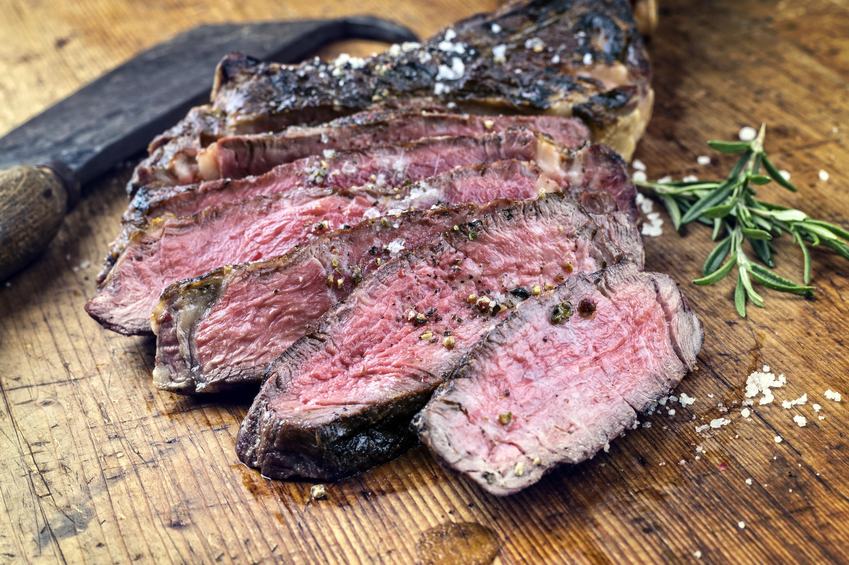 • Une côte de bœuf à La Maison de l'Aubrac