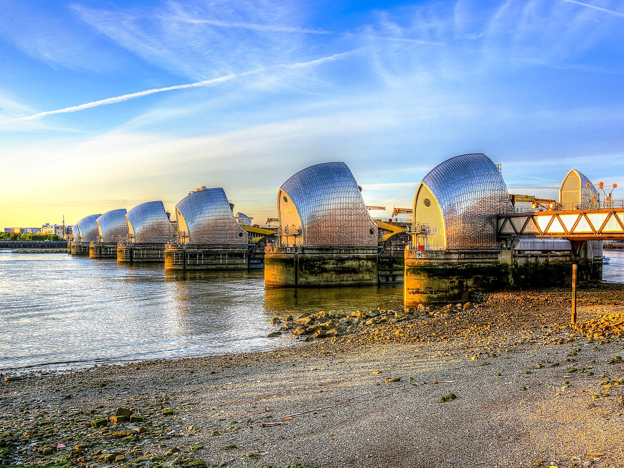 Seven Alternative Wonders of London, Thames Barrier