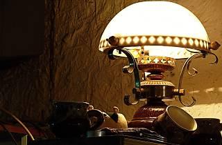 vieille lampe musée éclairage