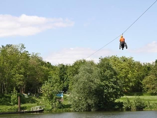 Ile de loisirs 'Le Port aux Cerises', Juvisy-Draveil, Essonne (91)