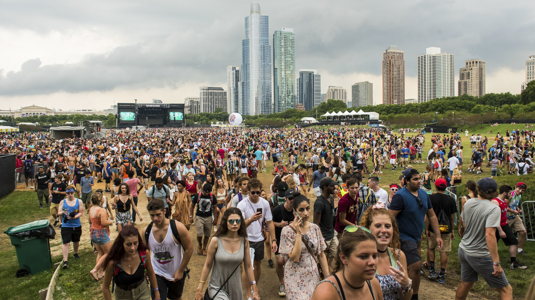 Photos from Lollapalooza day one