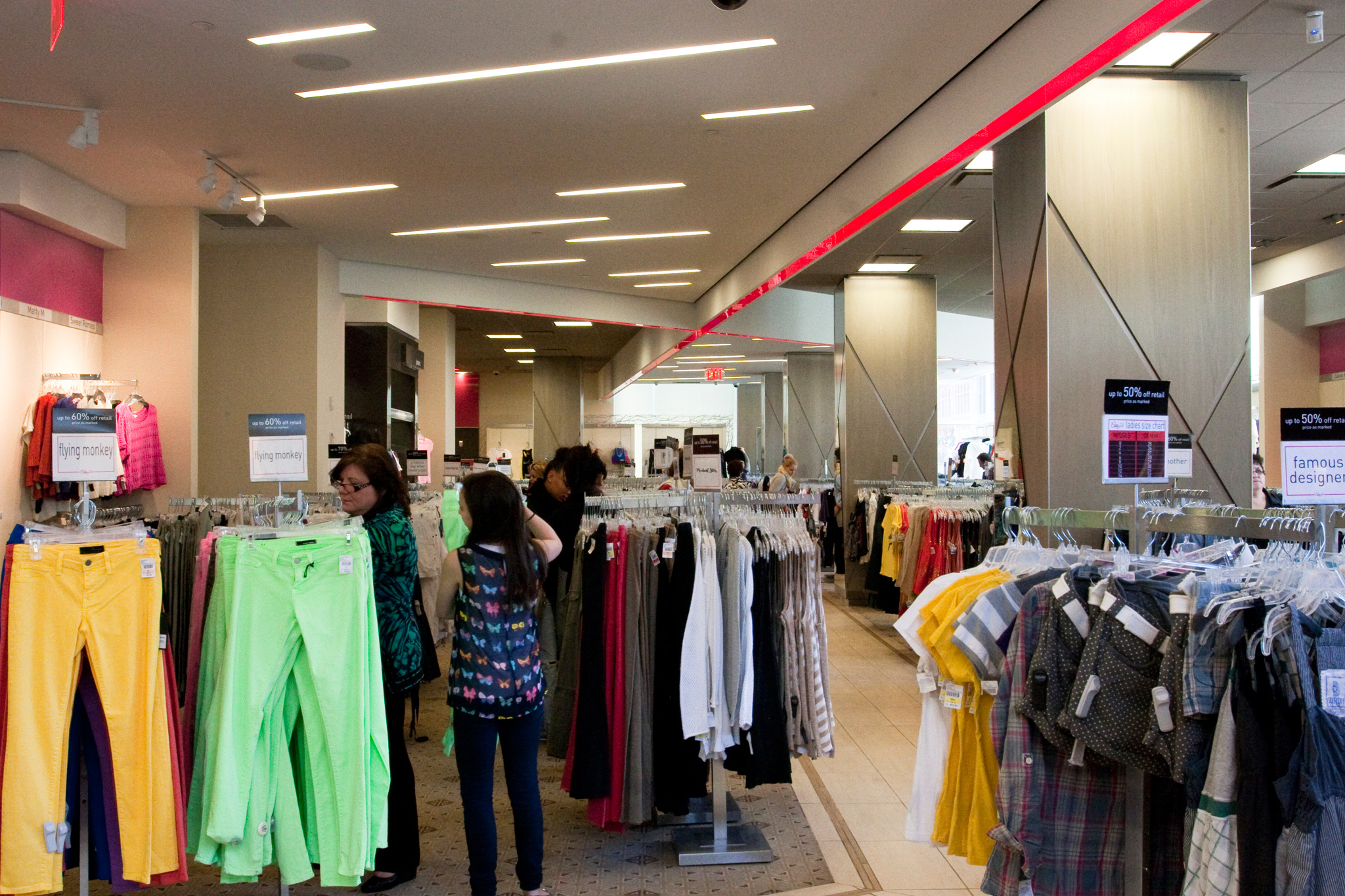 Century 21 clothing stores