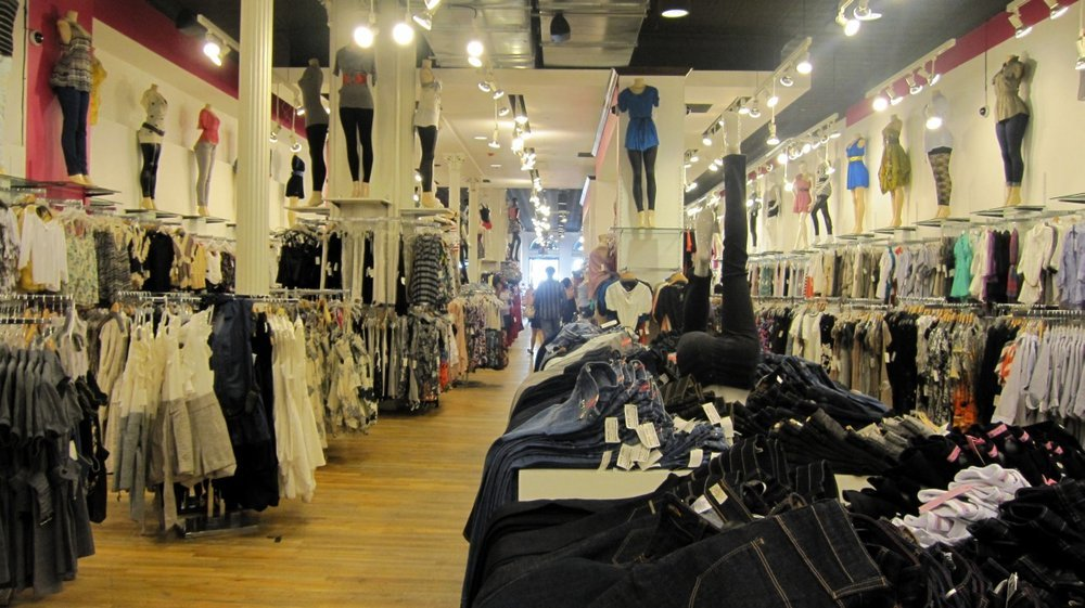 Stores similar to necessary clothing