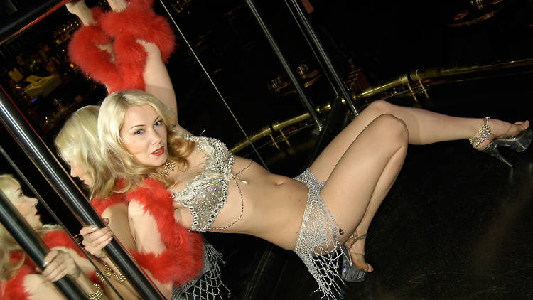 Stripper at The White Horse, Shoreditch